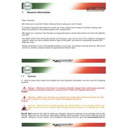 Benelli Tornado Tre Novecento Manuale De Utilizare