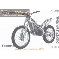 Beta Techno 250 1999 Manual De Intretinere