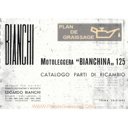 Bianchi 125 Bianchina Cat Part