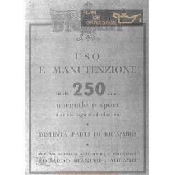 Bianchi 250 Freccia Oro Ma