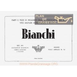 Bianchi 500 M Cat Part