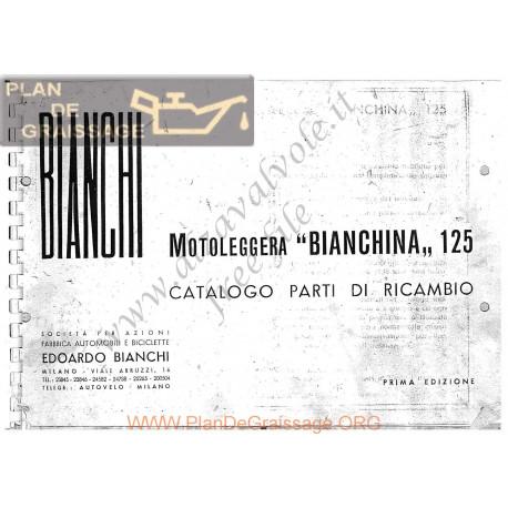 Bianchi Bianchina 125cc Catalogue Spare