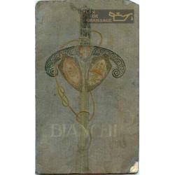 Bianchi Catalogue Velo 1916