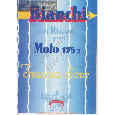 Bianchi Freccia Oro 175 3 Serie1 Turismo Catalogue Utilisateur