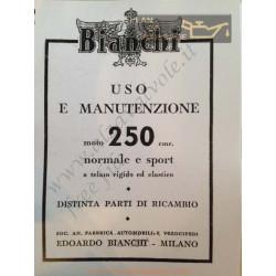Bianchi Freccia Oro 250cc Sport