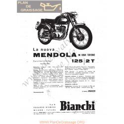 Bianchi Mendola 125 2t Gran Turismo Manuel