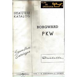 Borgward Isabella Index G15 Ersatzteilkatalog