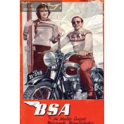 Bsa 1950 Manual De Intretinere