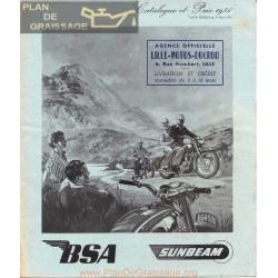Bsa 1956 Monocylindre Manual De Intretinere