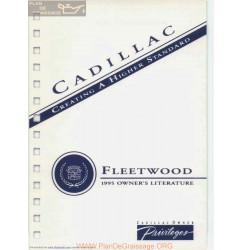 Cadillac 1995 Fleetwood User Manual