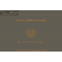 Cadillac 2000 Escalade User Manual