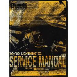 Buell X1 Lightning Manual De Reparatie