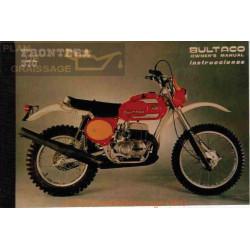 Bultaco Frontera 370 Mk 10 Mod 181 Manual Usuario