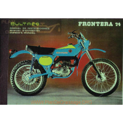 Bultaco Frontera 74 Mod 174 Manual Usuario