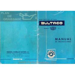 Bultaco Mercurio 155 Manual Instrucciones