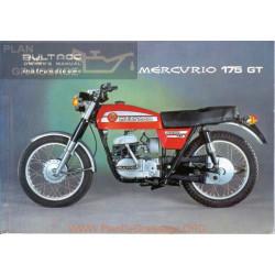 Bultaco Mercurio 175 Gt Manual Instrucciones