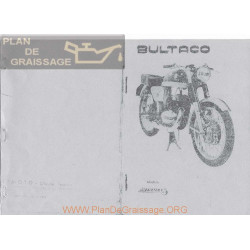 Bultaco Metralla Mk2 250 Manual De Instrucciones