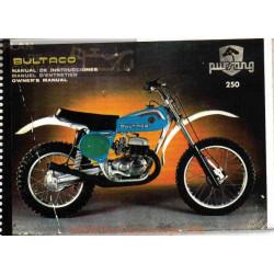 Bultaco Pursang Mk10 250 Mod 192 370 Mod 193 Manual Usuario