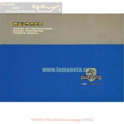 Bultaco Pursang Mk12 250cc Mod 219 Y Mk12 370cc Mod 220 Manual Usuario