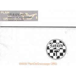 Bultaco Sherpa T 250 350 198 199a Manual Usuario