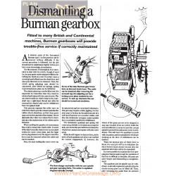 Burman Caja Cambio Desmontaje Ingles