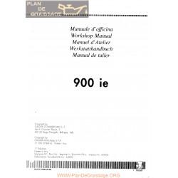 Cagiva 900 Ie Cagiva 1990 Manual De Reparatie