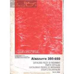 Cagiva Alazzurra 350 650 Manual De Despiece Ita Ing Fra Ale