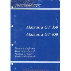 Cagiva Alazzurra 350 650 Manual De Taller Ita Ing Fra Ale