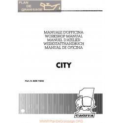 Cagiva City 1992 Manual De Reparatie