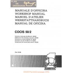 Cagiva Cocis 50 1990 Manual De Reparatie