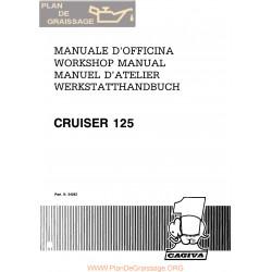 Cagiva Cruiser 125 1988 Manual De Reparatie