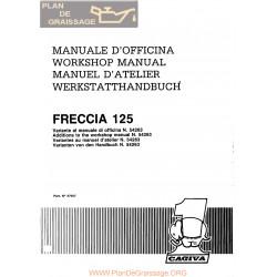 Cagiva Freccia 125 C9 1988 Manual De Reparatie