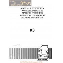 Cagiva K3 1991 Manual De Reparatie