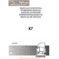 Cagiva K7 1990 Manual De Reparatie