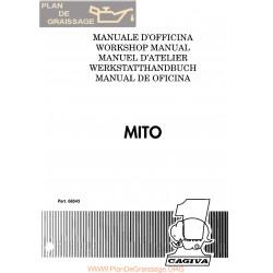 Cagiva Mito 125 1990 Manual De Reparatie