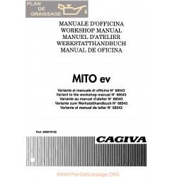 Cagiva Mito Ev 1994 Manual De Reparatie