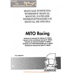 Cagiva Mito Racing 1991 Manual De Reparatie
