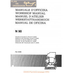 Cagiva N 90 1990 Manual De Reparatie