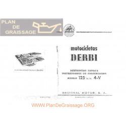 Derbi 125 4 Velocidades Manual Instrucciones