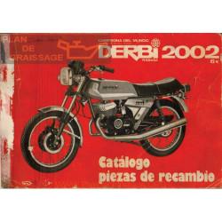 Derbi 2002 Catalogo Piezas Recambio