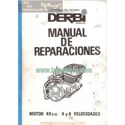 Derbi 49 Cc 4 Y 6 Velocidades Manual Motor