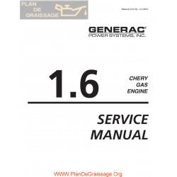 Chery 1600 Gas Engine Service Manual