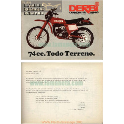 Derbi 74cc Cross Todo Terreno Manual