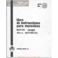 Derbi Antorcha 49 Cc Libro Motor Para Mecanicos