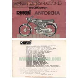 Derbi Antorcha 49 Cc Manual De Instrucciones