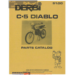 Derbi C5 Diablo Parts List