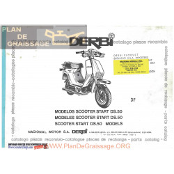 Derbi Ds 50 Parts List