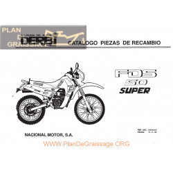 Derbi Fds Parts List