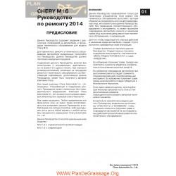 Chery Arrizo7 M16 2014 Service Manual Ru