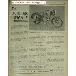 Dkw 250 Rt